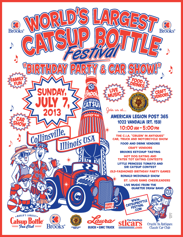 COLLINSVILLE CATSUP BOTTLE FESTIVAL